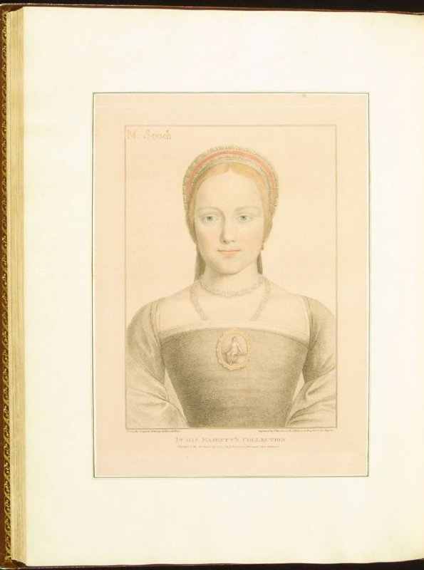 M. Souch , plate 71 in the book Imitations of Original Drawings by Hans Holbein in the Collection of His Majesty (London: John Chamberlaine, 1792)
