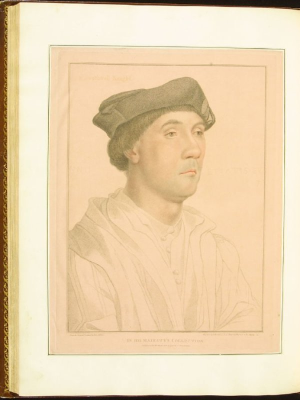 Sir Richard Southwell, plate 73 in the book Imitations of Original Drawings by Hans Holbein in the Collection of His Majesty (London: John Chamberlaine, 1792)