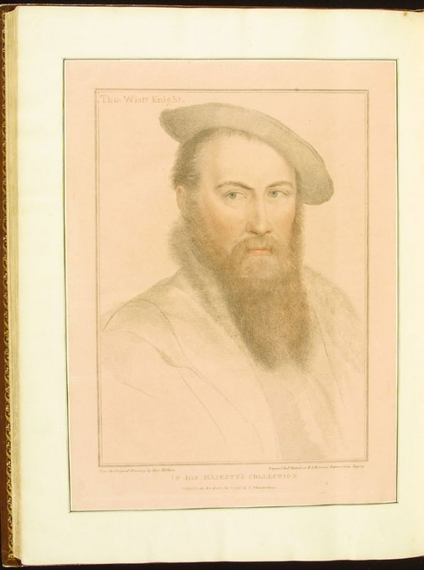 Charles Wingfield, plate 82 in the book Imitations of Original Drawings by Hans Holbein in the Collection of His Majesty (London: John Chamberlaine, 1792)