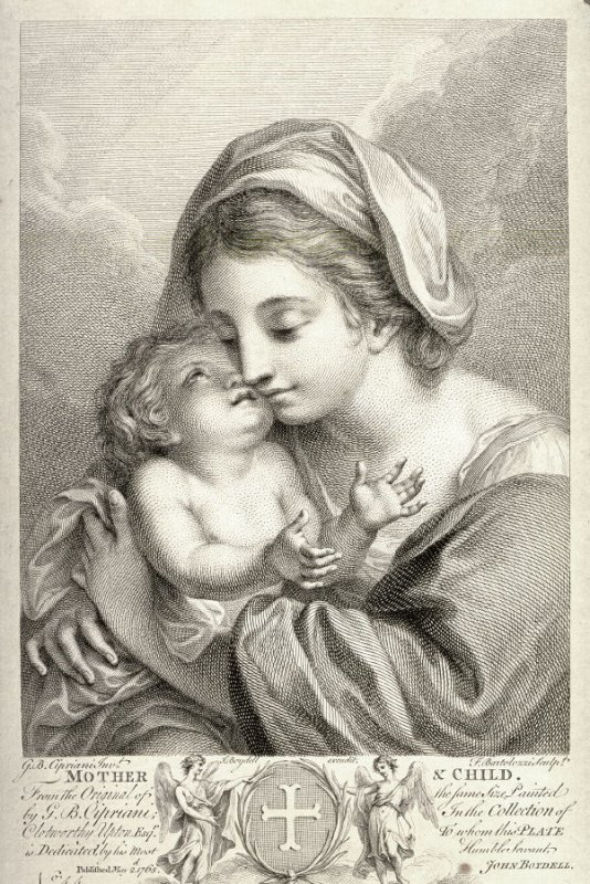 Mother and Child after Cipriani