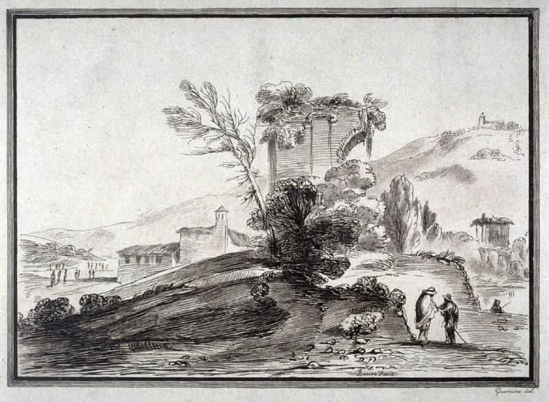 One of Eight Landscapes