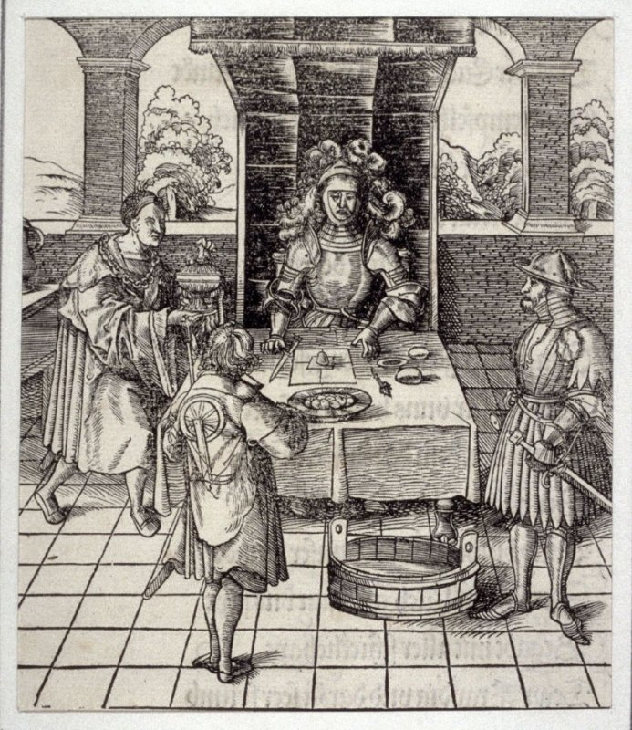 An Attempt to Poison Theuerdank from Theuerdank (Allegorical work commissioned by Emperor Maximilian I )