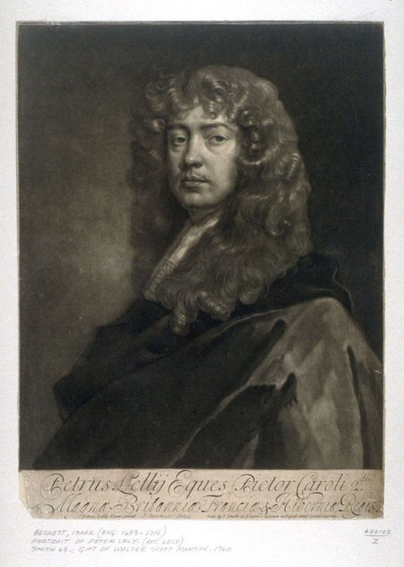 Self-Portrait of Sir Peter Lely