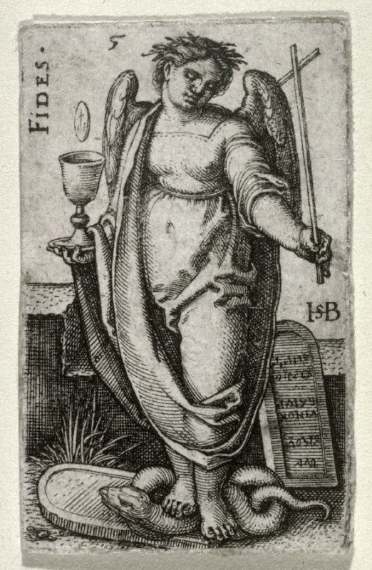 Fidelity, from a set of the Cardinal Virtues