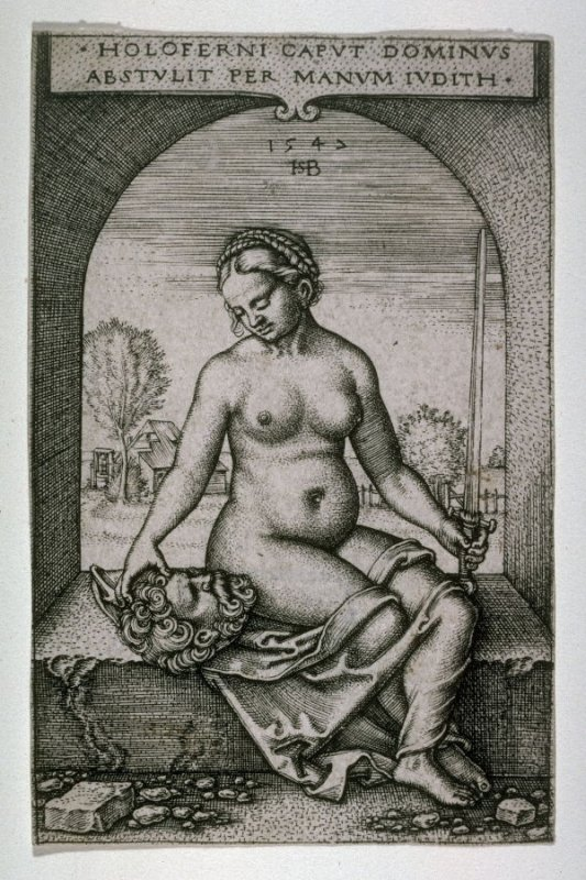 Judith Seated in an Arch