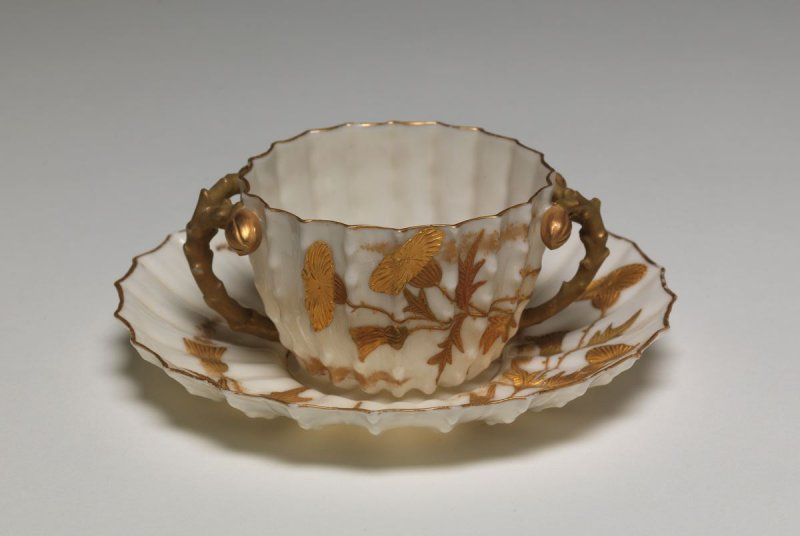 Bouillon cup and saucer