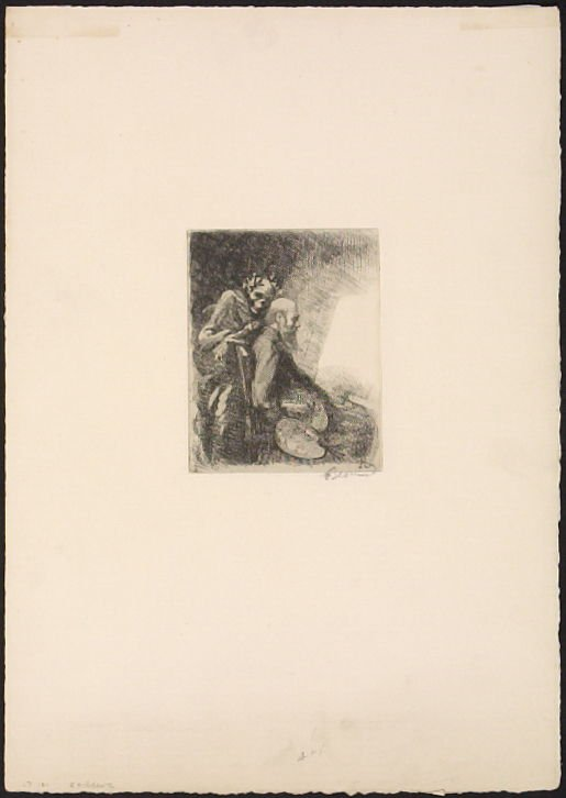 Plate I, Exigeante from Elle