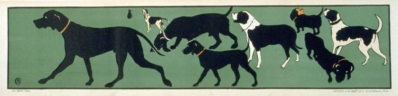 Frieze of Dogs