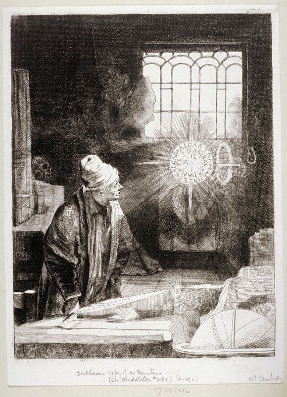 Faust in his study (Copy)