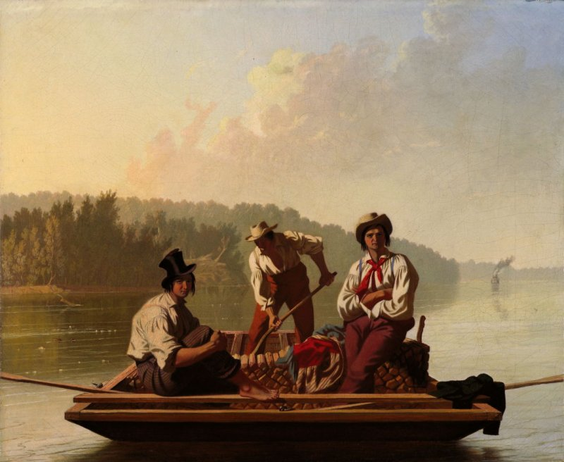 Boatmen on the Missouri
