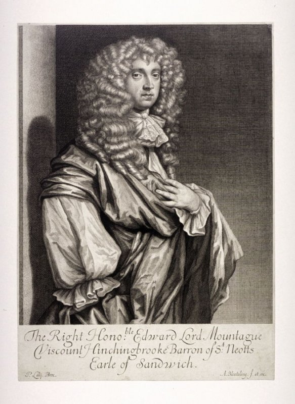 The Right Honoble Edward Lord Mountague