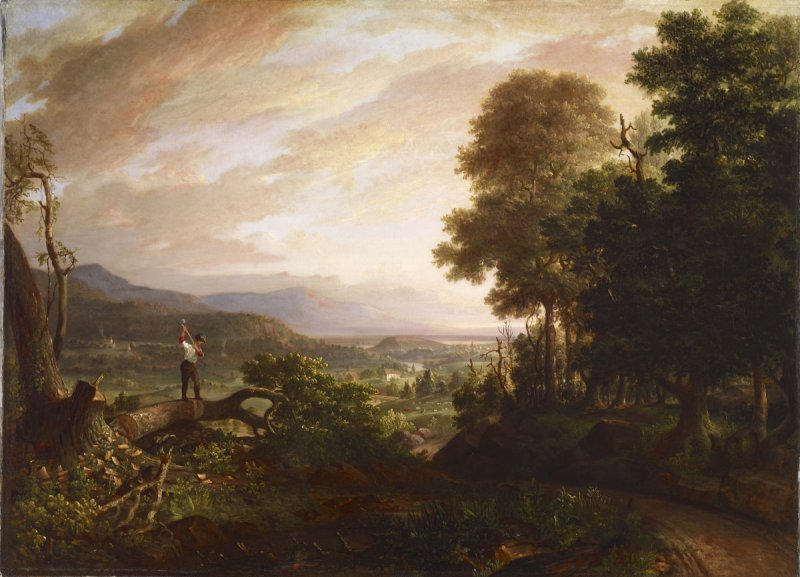 [The Saco River Valley Near North Conway, New Hampshire]