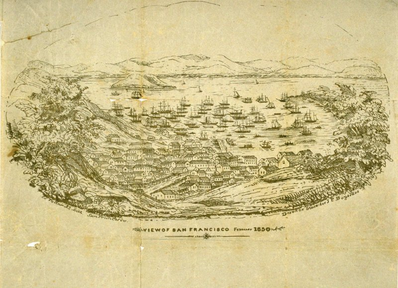 View of San Francisco, February 1850