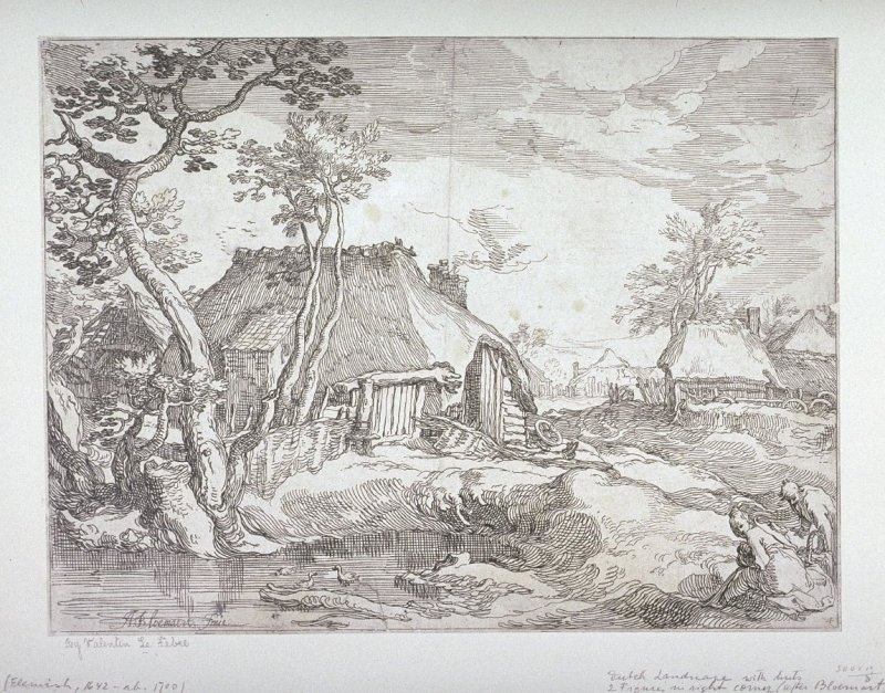 Farmhouses (Fourth in a series of Four Large Rural Views)