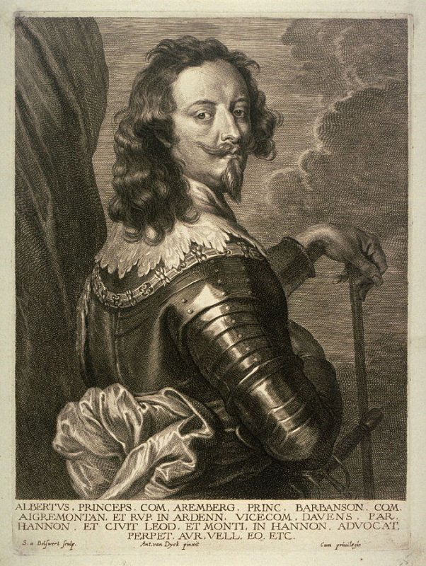 Arenberg and Barbançon, Albert de Ligne, Prince of, from The Iconography