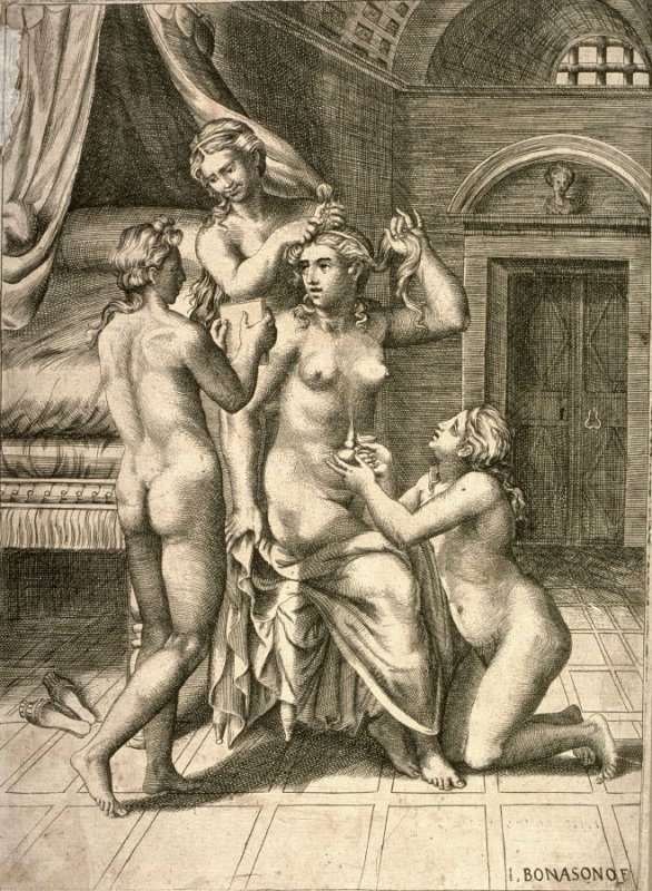Venus Attended by the Graces, after Raphael