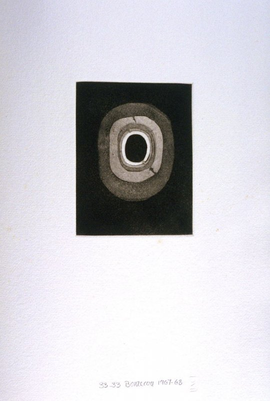 Untitled Abstract Illustration #1in the book Fifth Stone, Sixth Stone (Long Island, NY: Universal Limited Art Editions, 1968)