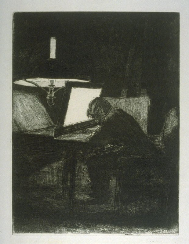 The etcher