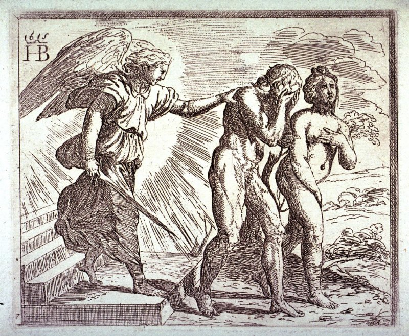 Adam and Eve Driven Out of Paradise