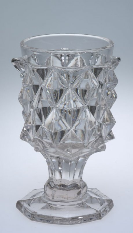 Goblet with Giant Sawtooth pattern