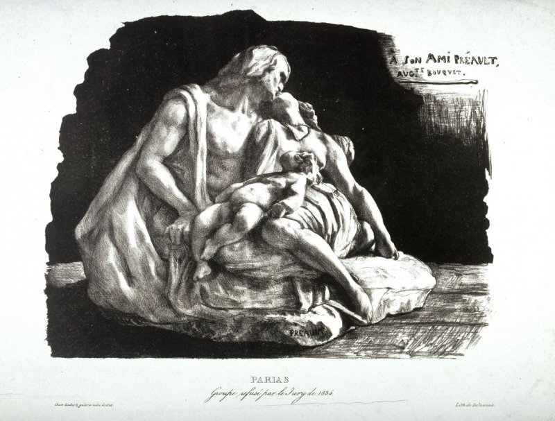 Parias, Groupe refusé par le Jury de 1834 (Parias, Group refused by the jury of 1834)