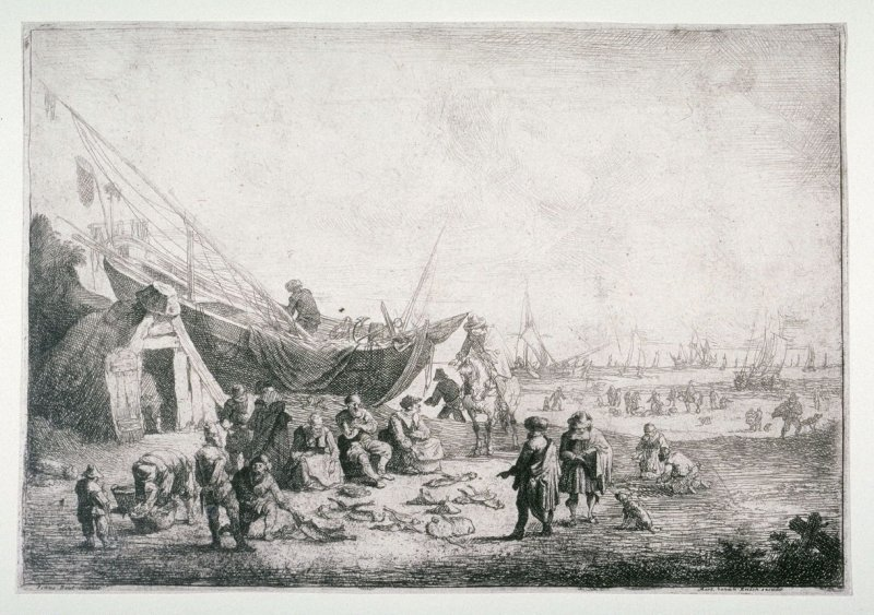 The Fish market at Scheveningen
