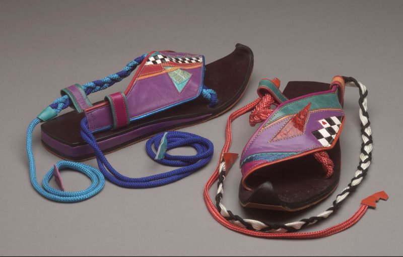Patchwork shoes