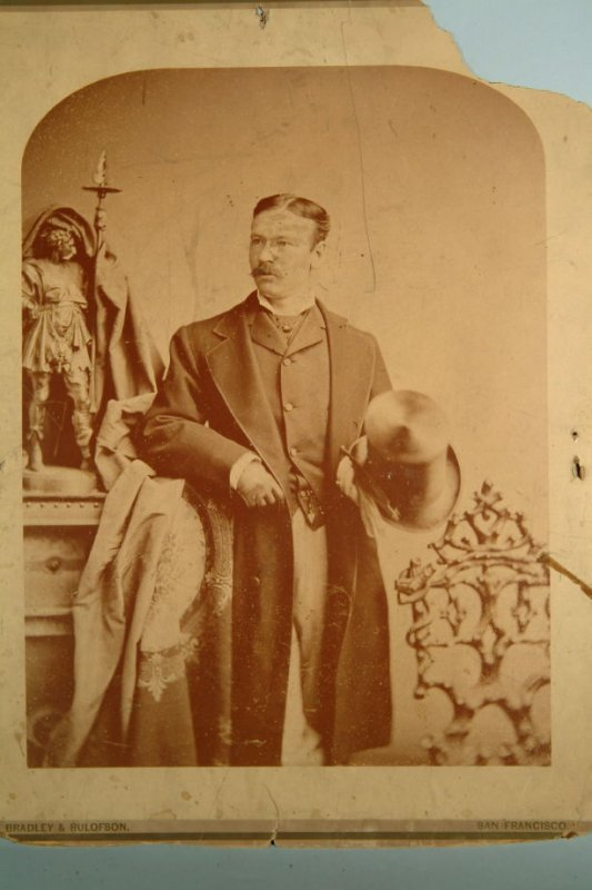 Samuel Piercy (standing, 3/4 length) (curved top)