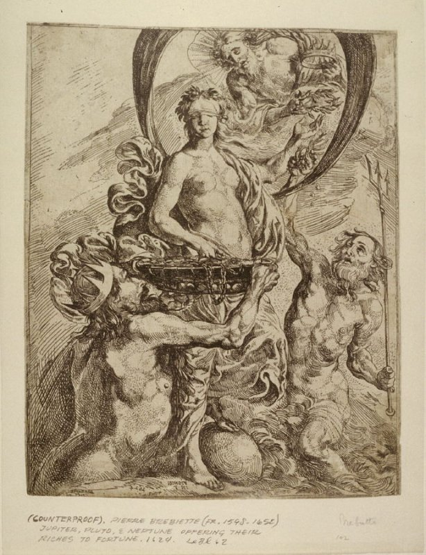 Jupitor, Pluto & Neptune offering their riches to Fortune