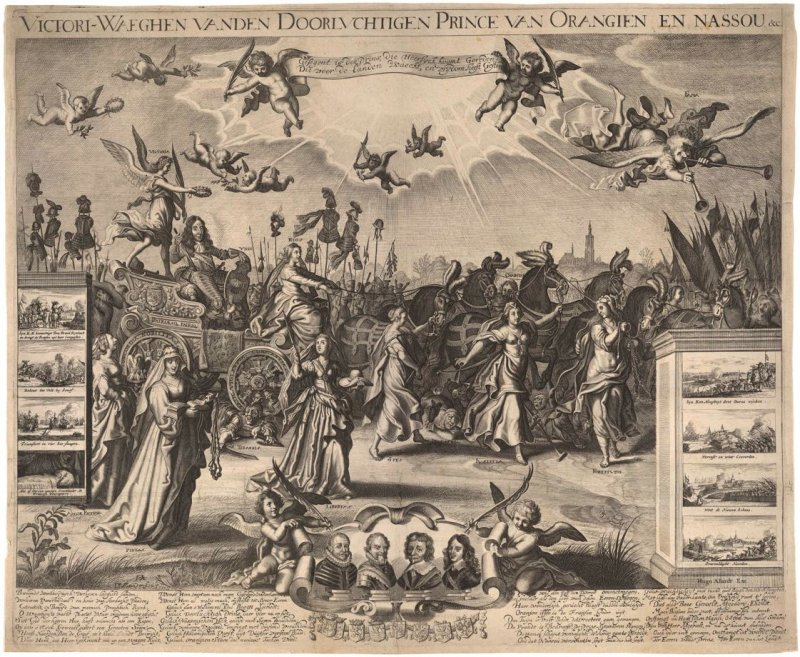 Allegory in Honor of Frederick Henry, Prince of Orange