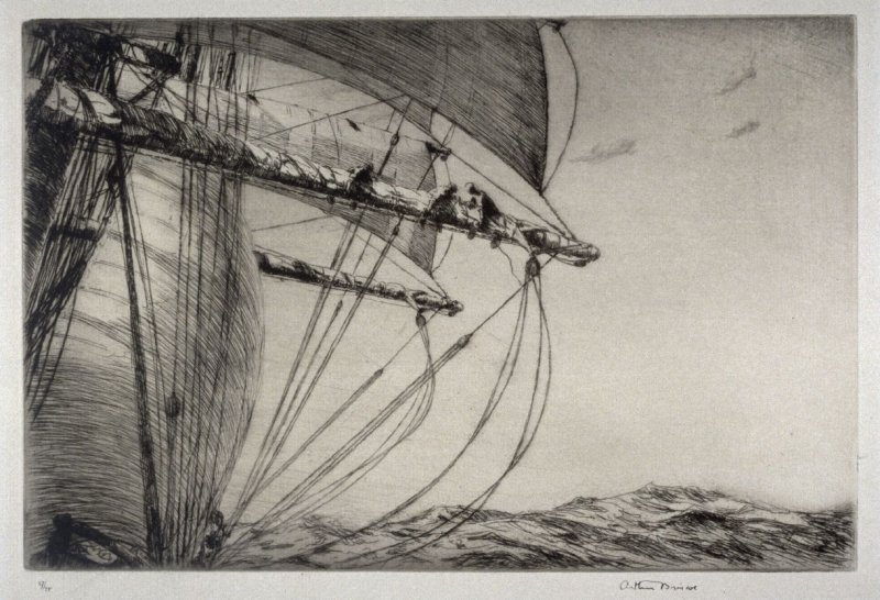 Furling the Foresail
