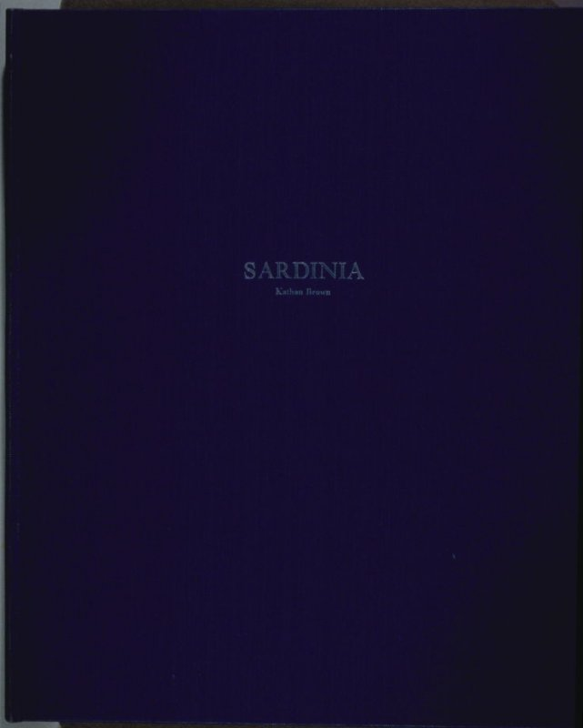 Sardinia (Oakland: Crown Point Press, 1975)