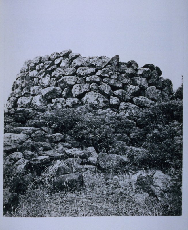 Stone formation, page in the book Sardinia (Oakland: Crown Point Press, 1975)