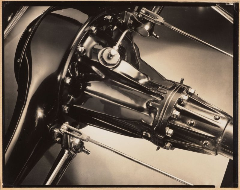 Untitled (Rear Axle Housing and Differential Carrier from 1929 Cadillac V-16 engine)