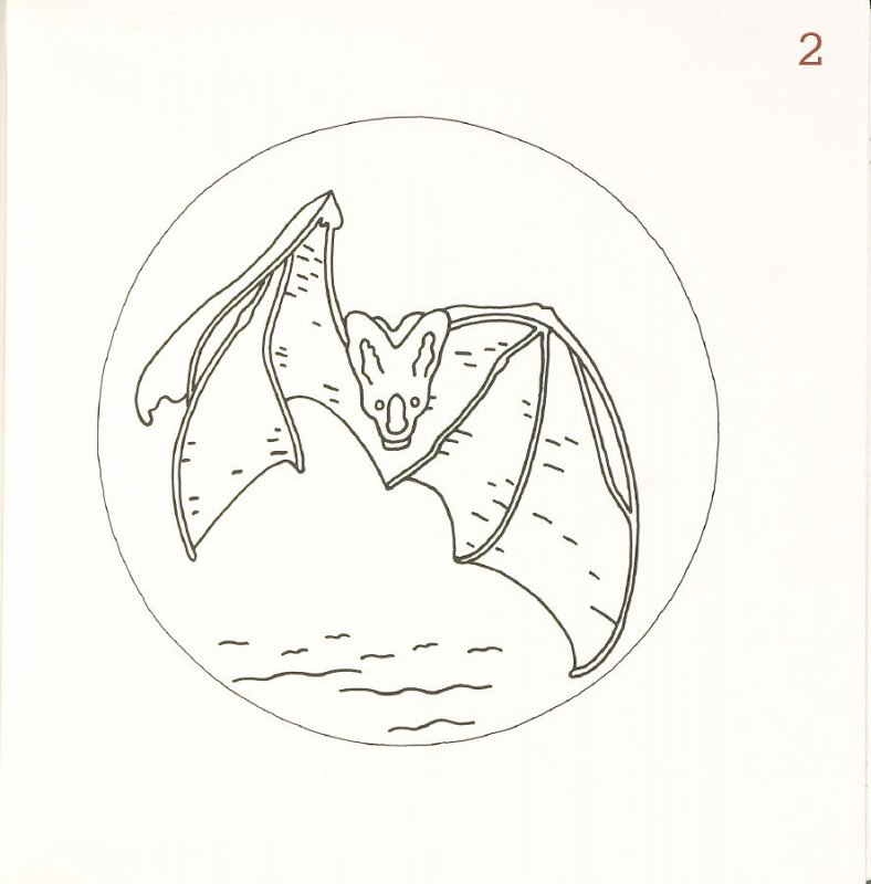 Untitled (Bat), page 2 in Another Name / General Instruction