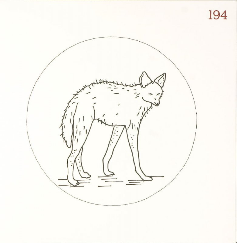 Untitled (Animal), page 194 in Another Name / General Instruction