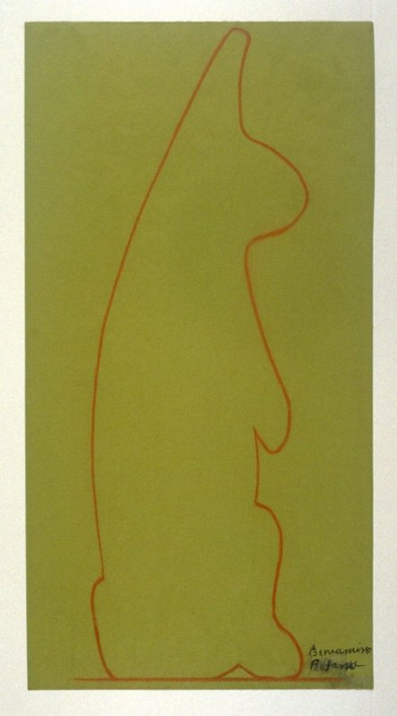 A Rabbit (Study for a marble sculpture)