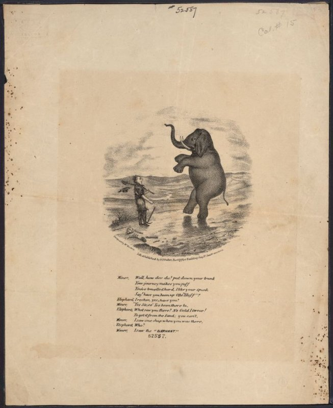 Dancing Elephant and Miner