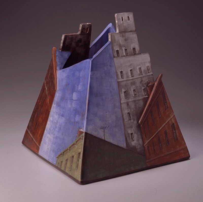 Untitled (Square Vessel)