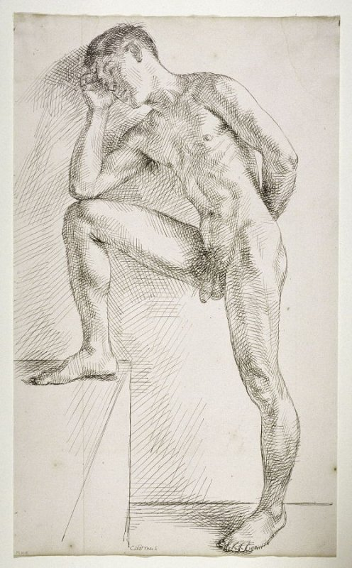 Cheek - Robert Arneson   FAMSF Search the Collections