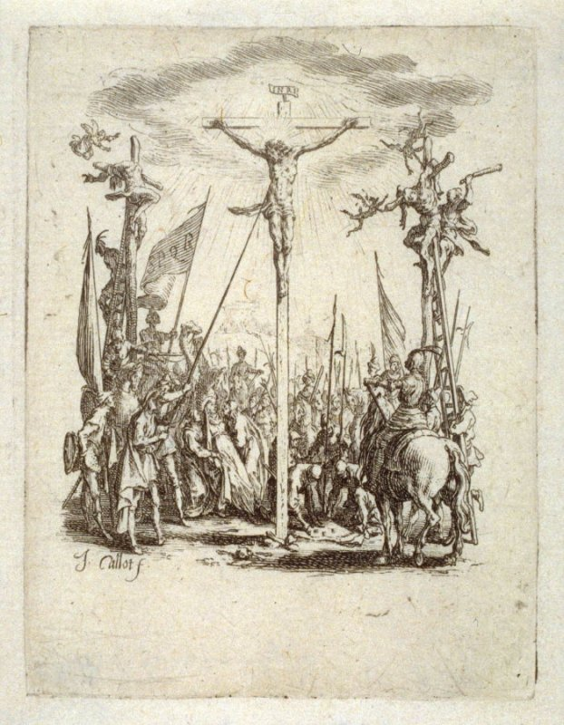 The crucifixion, from The Little Passion