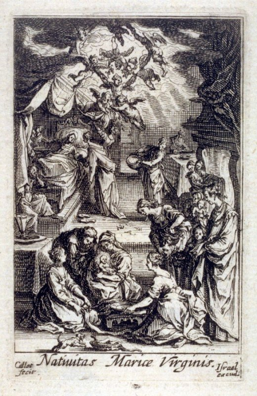 The Nativity of The Virgin,  from The Life of the Virgin