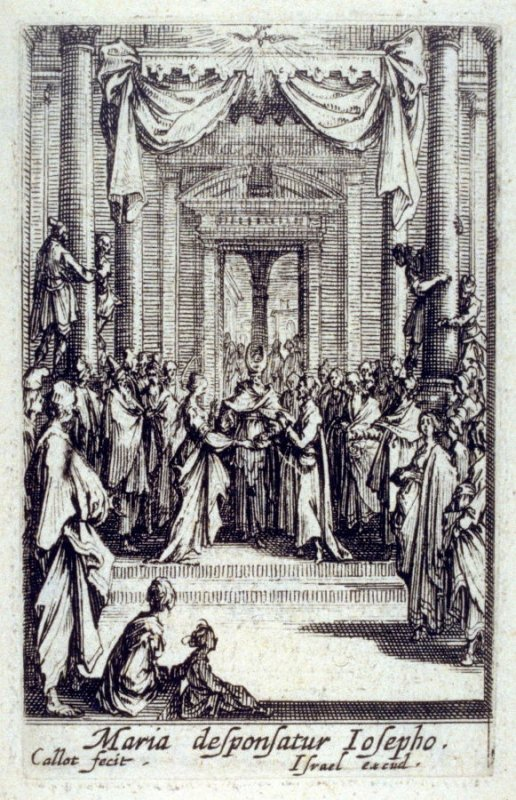 The Virgin and Joseph in the Temple, from The Life of the Virgin
