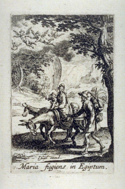 The Flight into Egypt, from The Life of the Virgin