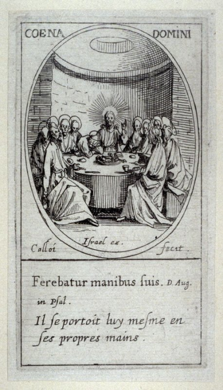 La Seinte-Cene, from Images of Movable Feasts (Les Fetes Mobiles)