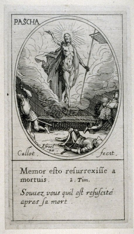 Paques (Pascha). from Images of Movable Feasts (Les Fetes Mobiles)