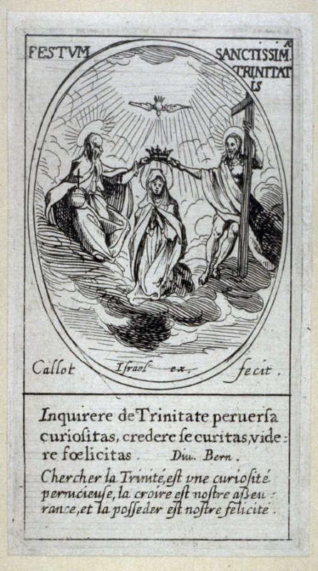 The Trinity, from Images of Movable Feasts (Les Fetes Mobiles)