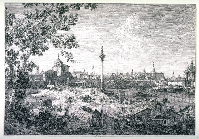 Imaginary View of Padua, from the series Vedute