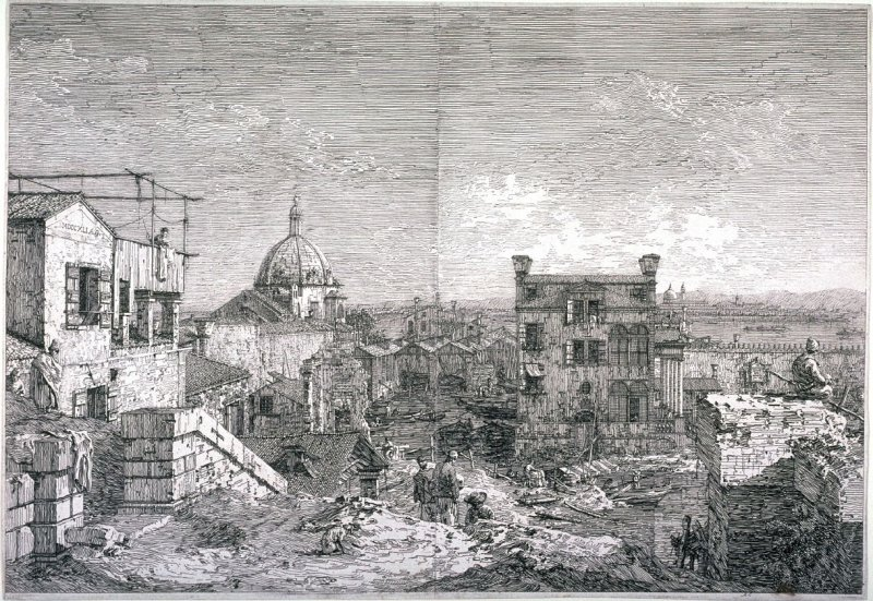 Imaginary View of Venice, from the series Vedute