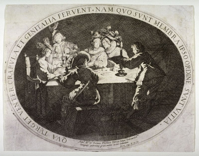 Drinking and Carousing (An Evening Party)